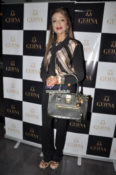 Malti Jain at Launch of Gehna Jewellers Unique Ring collection