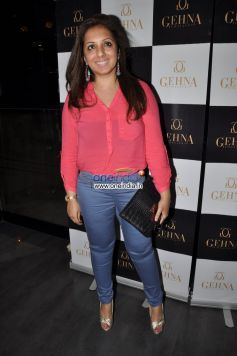 Munisha Khatwani at Launch of Gehna Jewellers Unique Ring collection