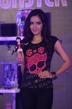 Shazahn Padamsee Launch of Monster High in India