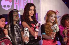 Shazahn Padamsee Launch of Monster High in India