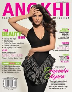 Priyanka Chopra on the cover of Anokhi - Spring 2013