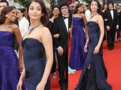 Ash in Midnight Blue Gown