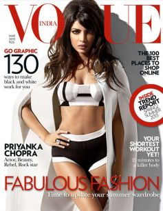 Priyanka Chopra magazine cover photo shoot