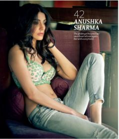 Anushka Sharma hot magazine cover photo shoot