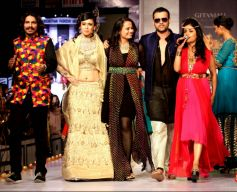 Bollywood and Maharana Arvind Singh came to the final day of Rajasthan Fashion week