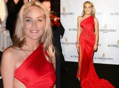 Sharon Stone in Red