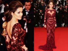 Cheryl Cole Goes Sheer At Cannes