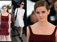Emma Watson's Feathered Look At Cannes