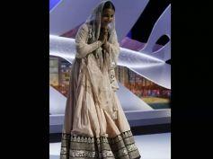 Vidya's pallu