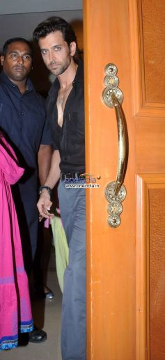 Hrithik Roshan arrive at Kris's Guide to Your Best Body Book Launch