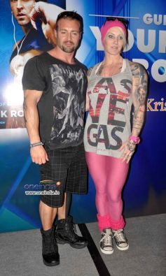 Author Kris Gethin With His Wife Marika Gethin