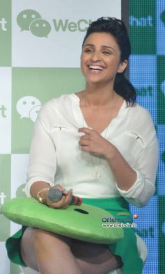 Parineeti Chopra at Launch of Tencent's WeChat Messenger