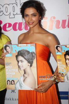 Deepika Padukone Unveils Special Issue of People Magazine