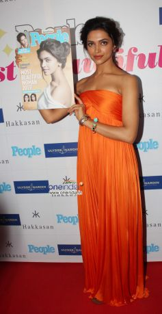 Deepika Padukone Unveils Special Issue of People Magazine