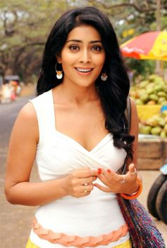 Shriya Saran in White Dress