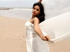 Neetu Chandra in White Dress