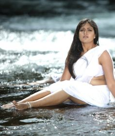 Meghana Raj in White Dress