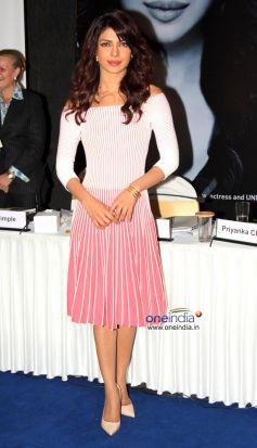 Priyanka Chopra at My World Conference
