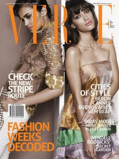 Angela Johnson On The Cover of Verve Magazine
