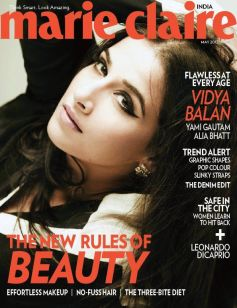 Vidya Balan On the Cover of Marie Claire May 2013