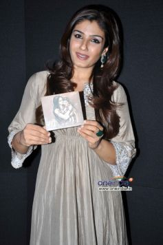 Raveena Tandon at Launch of Guzal Singer Farokh Bardoliwala's Music Album Maa