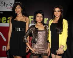 Riyaz Gangji fashion show at princess beach fair