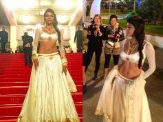 Sherlyn Chopra Goes Desi At Cannes 2013