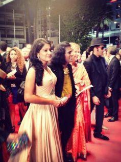 Vishakha Singh attends Cannes Film Festival 2013