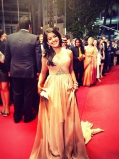 Vishakha Singh attends Cannes Film Festival 2013