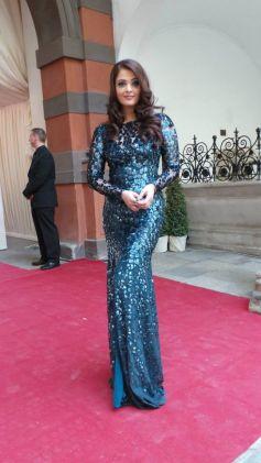 Aishwarya Rai in Roberto Cavalli at the Life Ball 2013 Gala Dinner