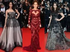 Who Wore Lace Gown Better At Cannes?