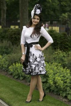 Aishwarya Rai at the Royal Ascot race