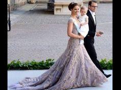Princess Victoria In Elie Saab
