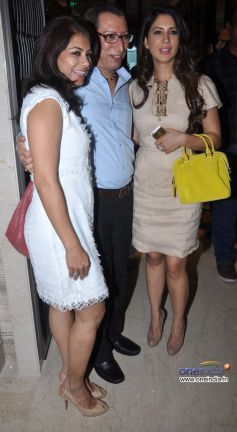 Divya Dutta and Kim Sharma at launch of Dr Dinyar's book on perfect skin