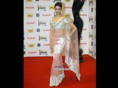 Deepika In Sheer Saree