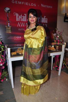 Mahima Chaudhary at Gemfields RioTinto Jeweller India Awards 2013
