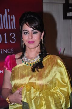 Mahima Chaudhary at Gemfields RioTinto Jeweller India Awards 2013