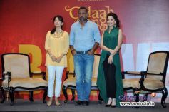 Juhi Chawla, Anubhav Sinha and Madhuri Dixit at Launch of Believe campaign to celebrate the Triumphs