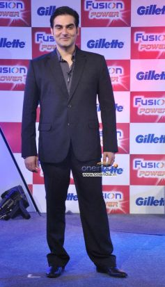 Arbaaz Khan at Launch of Gillette Fusion Power