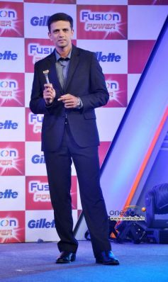 Rahul Dravid at Launch of Gillette Fusion Power