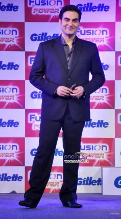 Arbaaz Khan,  at Launch of Gillette Fusion Power