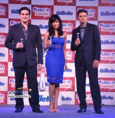 Arbaaz Khan, Chitrangada Singh and Rahul Dravid