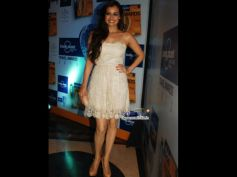 Diya In White Lace Dress