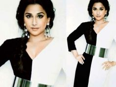 Vidya Balan In Black n White Too