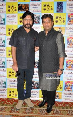 Yashpal Sharma and Tanay Seetha at Launch of exhibition on Rudraksha