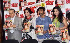 Sonam Kapoor and Dhanush Unveils Latest Issue of Starweek