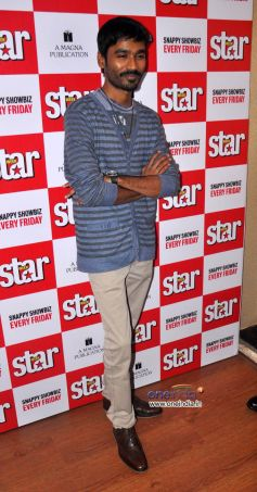 Dhanush Unveils Latest Issue of Starweek.