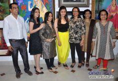 Alia Bhatt at Splassh Art Exhibition Inauguration