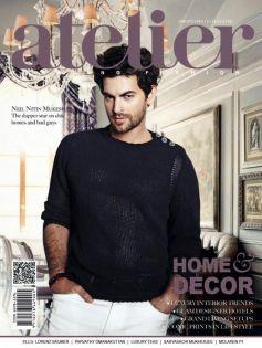 Neil Nitin Mukesh on the cover of Atelier - June 2013