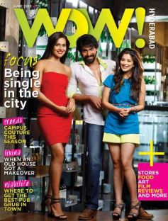 Rana Daggubati and Nathalia Kaur on the cover of Wow!